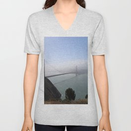 The Golden Gate Bridge Unisex V-Neck