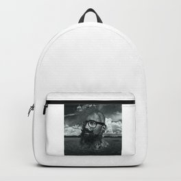 Eco Hipster Black and White Backpack