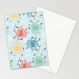 Nerdy Octopuses Stationery Cards