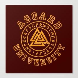 Asgard University Canvas Print