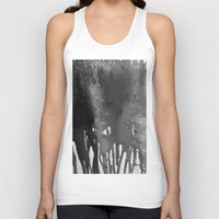 bleach Tank Tops featuring Bleach B&W by Sparky