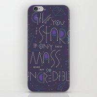 Haikuglyphics - Dear Someone iPhone & iPod Skin