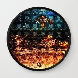 Dead Frost Skulls (Darker Version) Wall Clock