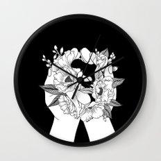 Natural Woman Wall Clock