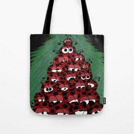 The Ladybug Holiday Fest Tote Bag