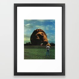 Midwestern Mythology Framed Art Print