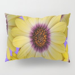 LILAC & YELLOW FLOWERS GARDEN Pillow Sham