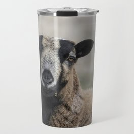 Barbados Blackbelly Sheep Portrait Travel Mug
