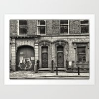 dublin Art Prints featuring Dublin by unaciertamirada