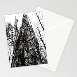 Notch Tree Trunk Stationery Cards