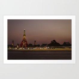 Wat Arun Art Print