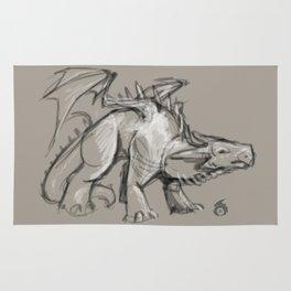 Dragon Sketch Rug