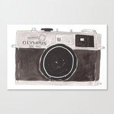 My Camera, Your Camera Canvas Print