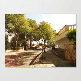 Streets of Magaluf II Canvas Print