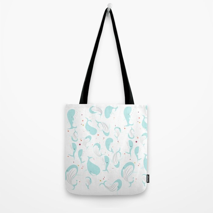 Ballet Whales Tote Bag