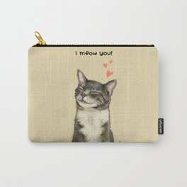 I meow you! Carry-All Pouch