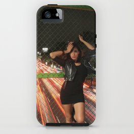 Stef @ Night iPhone Case