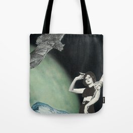 Pin-Up Witchery Tote Bag