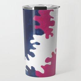 14 // I AM ATTACHED   MATISSE INSPIRED Travel Mug