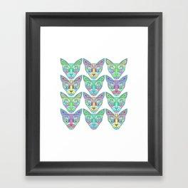 Gatos Framed Art Print