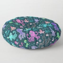 Octopus party Floor Pillow