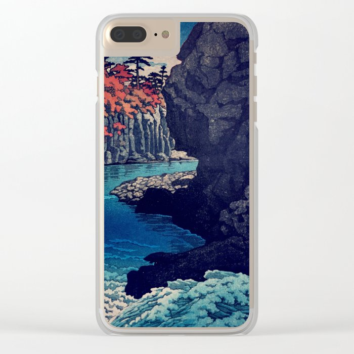 Hunker Down at Risna Clear iPhone Case
