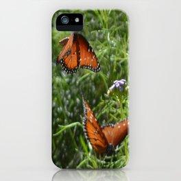 Butterflies in love  iPhone Case