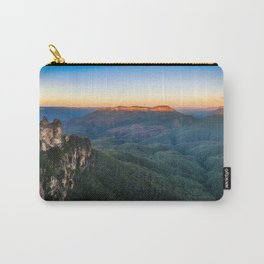 Three Sisters Sunrise View in Blue Mountains, Australia Carry-All Pouch