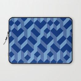 Blue Fresh Pattern Laptop Sleeve