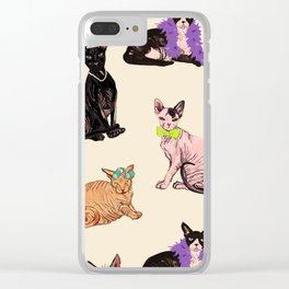Pampered Clear iPhone Case