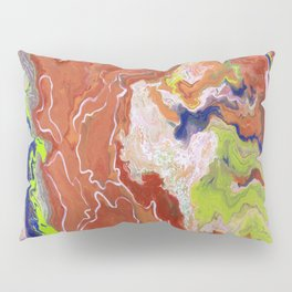 Multi Colors Pillow Sham