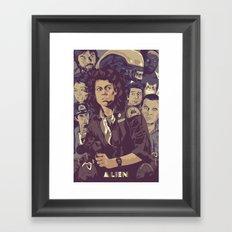 ALIEN v1 Framed Art Print