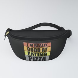 Pizza Quotes Funny Fanny Pack