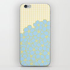 Forget Me Knot Gold Grid iPhone & iPod Skin