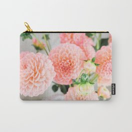 Coral Dahlias 01 Carry-All Pouch