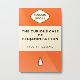 The Curious Case of Benjamin Buttons Metal Print