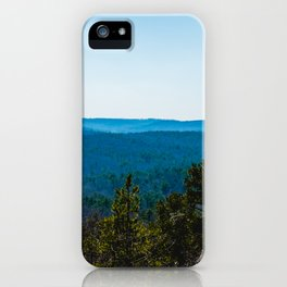 Park with a view iPhone Case
