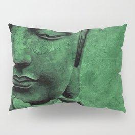 Buddha Head Pillow Sham