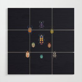Beautiful bugs Wood Wall Art