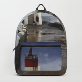 The fishermen of the lighthouse Backpack