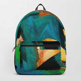 After The War Abstract Backpack