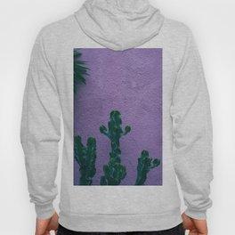 Cactus and pastel walls Hoody