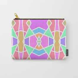 SWEET RETRO GEOMETRY Carry-All Pouch