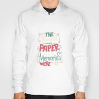 paper towns Hoodies featuring Paper Towns: Town and Memories by Risa Rodil