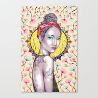 you are my sunshine Canvas Prints featuring Sunshine by Peter Fulop