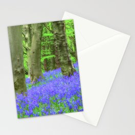 Bluebell Woods, The Wenallt #2 Stationery Cards
