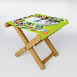 Bach Collage Folding Stool