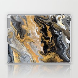Gold Vein Marble Laptop & iPad Skin