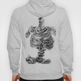 Monoprint Skeleton 2 Hoody
