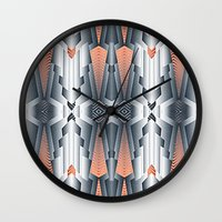 vogue Wall Clocks featuring vogue by kociara